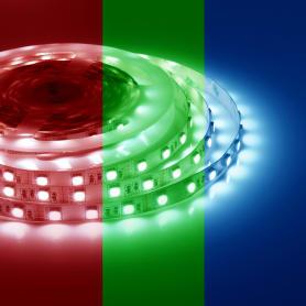 Светодиодная лента 14.4Вт/60LED/м свет RGB IP23