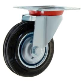 Колесо 125 мм поворотное без тормоза