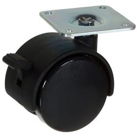 Колесо Alex 1-0404, 50 мм поворотное с тормозом