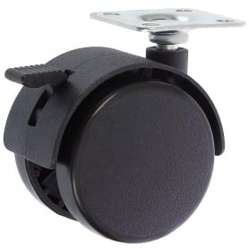 Колесо Boyard N101BL, 50 мм поворотное с тормозом