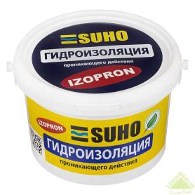 Смесь гидроизоляционная проникающая Suho Izopron, 4 кг