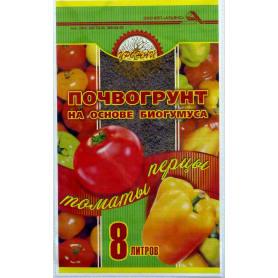 Почвогрунт для перцев и томатов «Урожай» 8 л