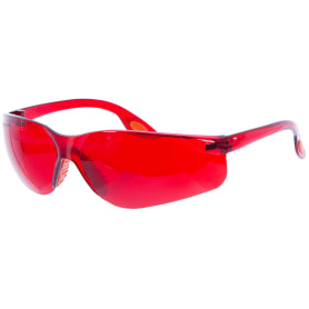 Очки защитные Archimedes, цвет красный