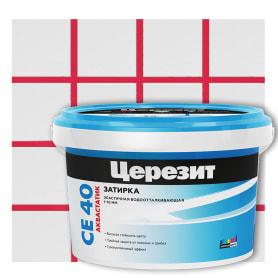 Затирка цементная Ceresit CE 40 2 кг цвет чили