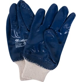 Перчатки нитриловый облив Сибртех, размер M
