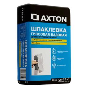Шпаклёвка гипсовая базовая Axton 25 кг