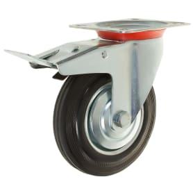 Колесо NF-0030, 160 мм поворотное с тормозом