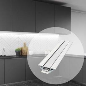 Профиль для светодиодной ленты угловой 2 м