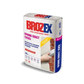 Штукатурка гипсовая Brozex Прима Пласт 30 кг