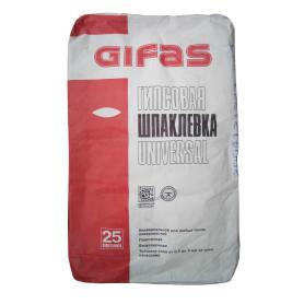 Шпаклёвка гипсовая базовая Gifas Universal 25 кг