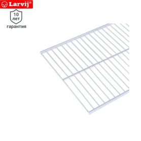 Полка сетчатая Larvij 603х306 мм цвет белый