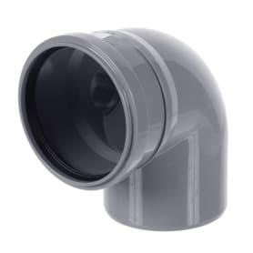 Отвод Политэк левый Ø 110 мм полипропилен