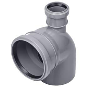 Отвод Политэк прямой Ø 110 мм полипропилен
