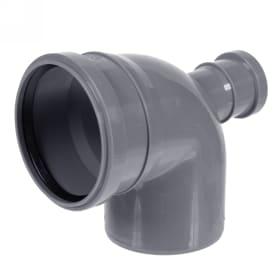 Отвод Политэк фронтальный Ø 110 мм полипропилен