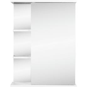 Шкаф зеркальный правый «Венеция» 55 см цвет белый