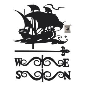 Флюгер большой Duck&Dog «Корабль»