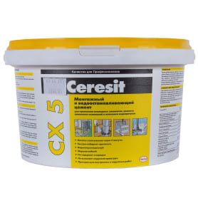 Цемент монтажный водоостанавливающий Ceresit CX5, 2 кг