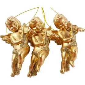 Ёлочное украшение «Ангелы» 10 см