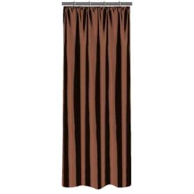 Штора на ленте 140х260 см тафта цвет шоколадный