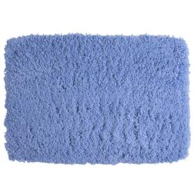 Коврик для ванной комнаты 60х90 см цвет синий
