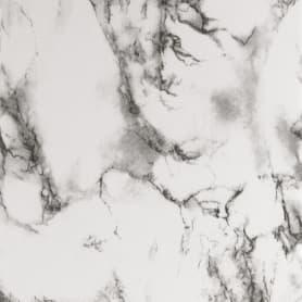 Пленка самоклеящаяся 3958, 0.45х8 м, мрамор, цвет чёрно-белый