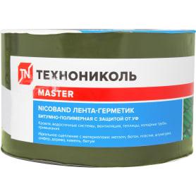 Лента-герметик Никобенд, 10х0,1 м, цвет зелёный