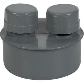 Вакуумный клапан Политрон Ø 110 мм полипропилен
