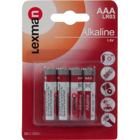 Батарейка алкалиновая Lexman AAA 4 шт.