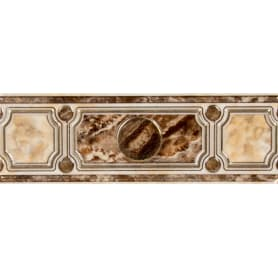 Бордюр «Pietra» 7.5x23 см цвет коричневый