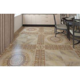 Вставка угловая «Тенерифе» 14х14 см цвет серый