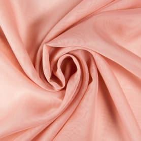Вуаль 1 п/м 295 см однотон цвет розовый