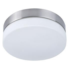 Светильник Presto 1xE14х60 Вт, круг, цвет никель, IP44