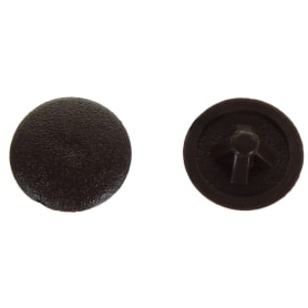 Заглушка на шуруп PZ 3 15 мм полиэтилен цвет коричневый, 50 шт.