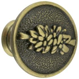 Ручка-кнопка Kerron RK-001 BA металл цвет бронза