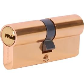 Цилиндр перфорированный Al 70 C PB ключ-ключ, золото