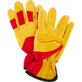 Перчатки садовые hq-15-XL, кожа/спандекс