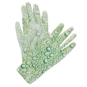 Перчатки садовые цветные обливные xy-33-M