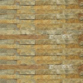 Камень натуральный Кварцит, цвет мультиколор, 0.63 м2