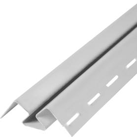 Угол внутренний для фасадных панелей Fineber цвет белый