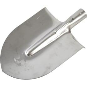 Лопата штыковая остроконечная 147 см нержавеющая сталь без черенка