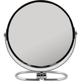 Зеркало косметическое настольное с увеличением 17 см