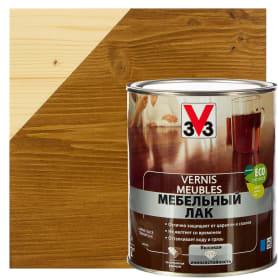 Лак для мебели V33 акриловый цвет тёмный дуб 1 л