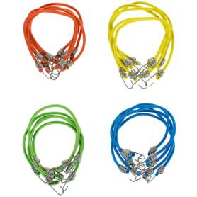 Набор верёвок эластичных, 25x0.4 см, 9 кг, 20 шт.