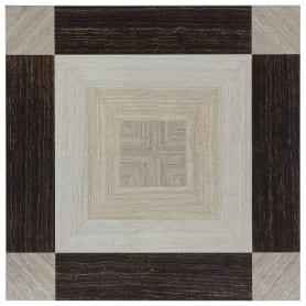 Керамогранит «Sinua Mix Inserto Casetone» 45x45 см 1.01 м2 цвет бежевый