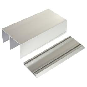 Комплект направляющих для проема 3600 мм цвет серебро