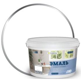 Эмаль акриловая матовая цвет белый 2.5 кг