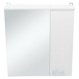 Шкаф зеркальный «Венеция» 65 см цвет белый