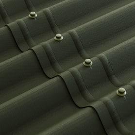Лист Ондулин 3x760х1950 мм зелёный