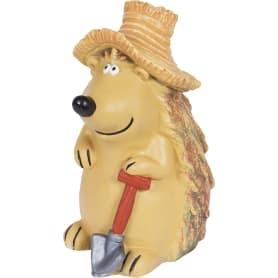 Фигура садовая «Ёжик в шляпе с лопатой» высота 43 см