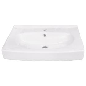 Раковина Santek «Пилот» на стиральную машину керамическая, 50 см, цвет белый